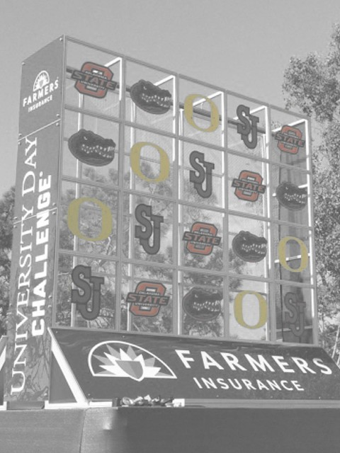 Expo Outfitters Supports the 2nd Annual Farmers Insurance Open University Challenge
